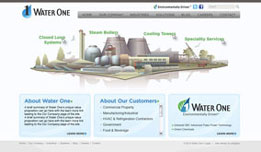 Water One | Web design