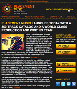 Placment Music